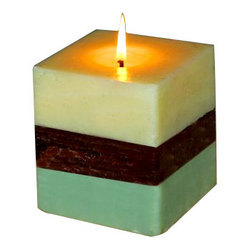 green tea scented candles - Decorative Candles