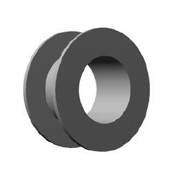 Tita Prosthesis Vent Tube Type Collar Button