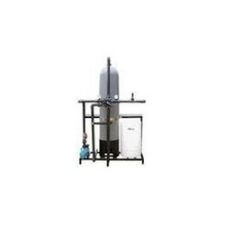 Semi Automatic Water Softening System
