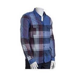 Big Dispro Print Check Shirt