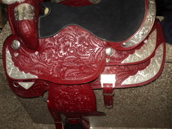 western saddle in full fitting