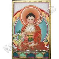 Buddha Painting on Marble