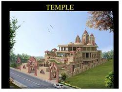 Temple for Iskcon