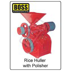 rice hullers with polishers