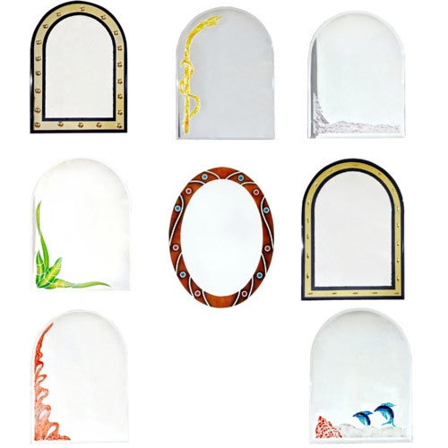 Glass Mirrors & Frames - Colour Glass Manufacturer from Ghaziabad