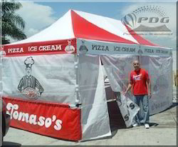 10' X 20' Pop Up Tent for Tomaso's Pizza