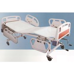 Hospital Fowler Bed with ABS Panels and ABS Railings