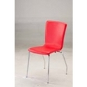L Shape PVC Stitched Shell Chair