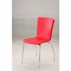 L Shape PVC Stitched Shell Chair