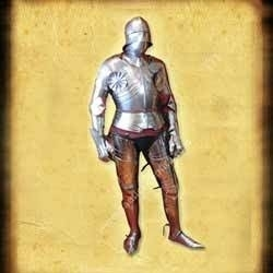 15th century Gothic suit of armour