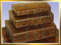 Wooden Briefcase Set Of 3