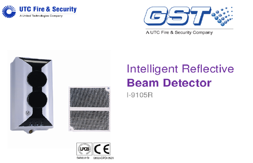 intelligent reflective beam detector i 9105r 500x500 addressable fire system gst manufacturer from new delhi gst smoke detector wiring diagram at bayanpartner.co