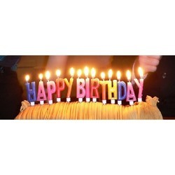 Birthday Candles Birthday Cake Candles Manufacturer from New Delhi