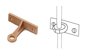 Side Mounting Rod Bracket