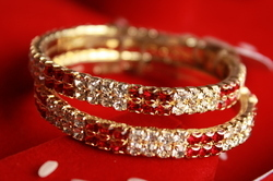 Gold Plated Small Bangles