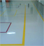 high build epoxy based chemical resistant coating