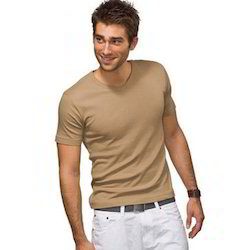 Mens Rib Neck T-Shirts
