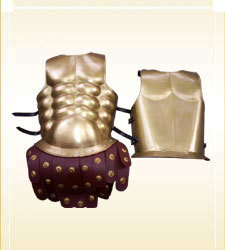 Royal Muscle Armor Cuirass-Brass Finish