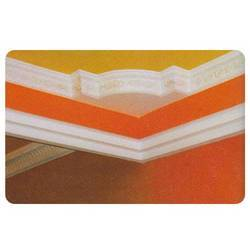 Orange Plaster of Paris Decorations