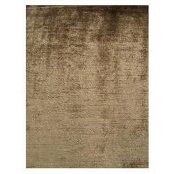 10x34 All Silk - Plain Brown