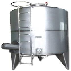 aluminum storage tank