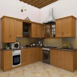 Modern L Shape Modular Kitchens