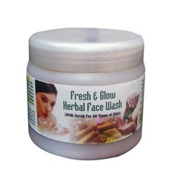 Fresh & Glow Herbal Face Wash
