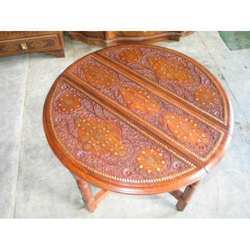 Crafted Round Table