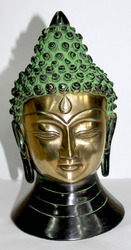 Brass Metal Buddha