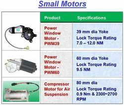 Small Motors