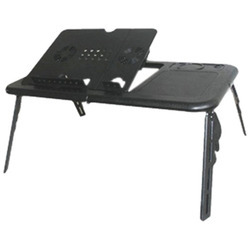 Black Laptop Table