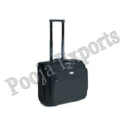 Leather Laptop Trolley Bag ( Product Code: TL242)