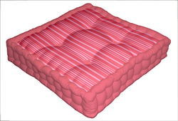 Striped Box Cushion