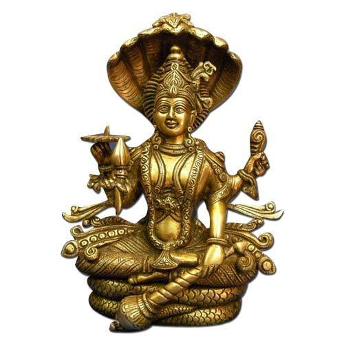 Vishnu Brass Statue At Rs 2500 Pieces Brass God Statues