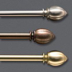 Metallic Scroll Rods