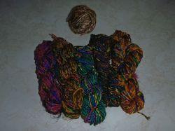 Sari Silk Recycled Yarns