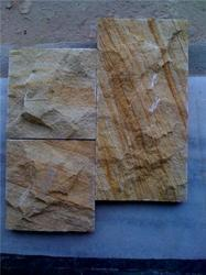 Teak Wood Rock Face Stone