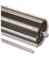 L.R. Carding Chute Feed Opening Roll