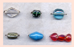 Colored Lustre Beads