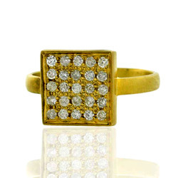 Indian Ethnic Diamond Ring jewelry