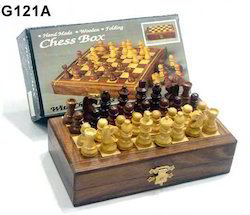 Wooden Folding Chess
