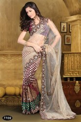 Cute Designer Saree