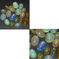 Ethiopian Opal Gemstone Necklace