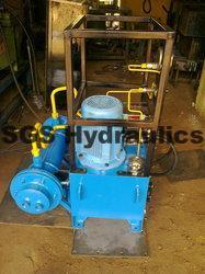 Hydraulic 3 H.P.Power Pack With Multiple Valves U