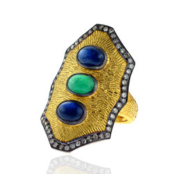 Designer Gemstone ring