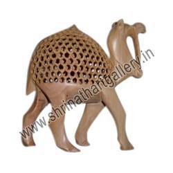 Wooden Jaali Camel