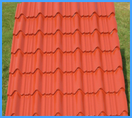 Colour Coated Tiles