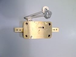 Brass Two Way Locker Lock