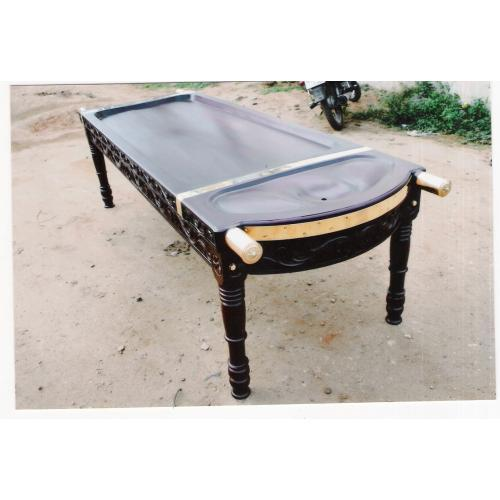 Venga Wood Massage Table With Carving