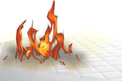 mattresses fire barrier